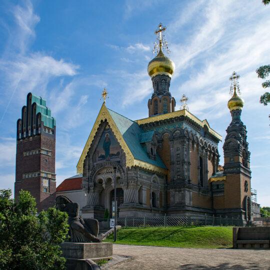 russisch-orthodoxe Kirche (Mathildenhöhe)